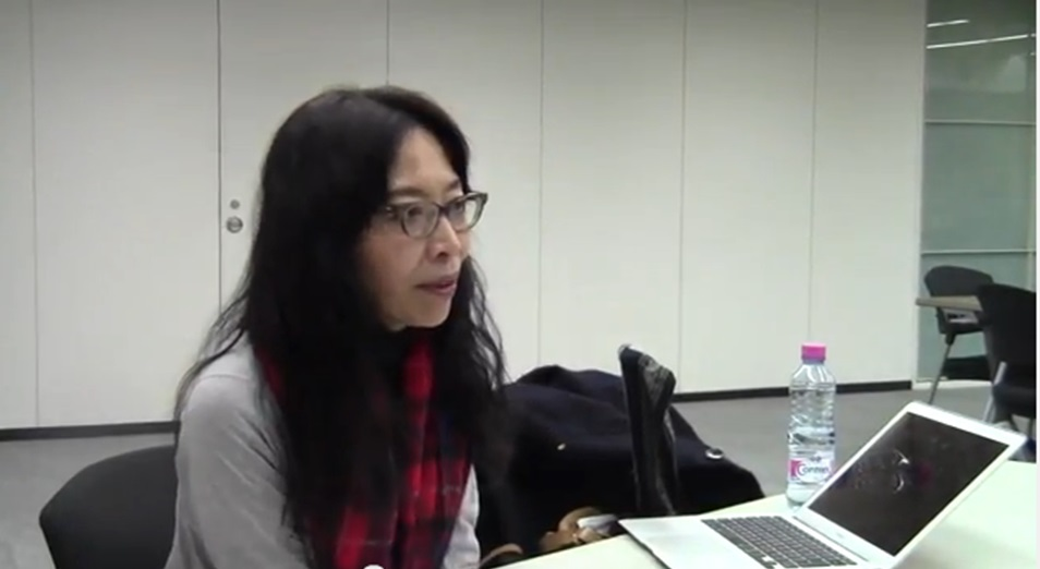 那波かおり  Kaori Nawa (2014.12.05)